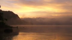 Mexcio Lagoon Sunrise 2 Stock Footage