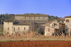 Badia a Isola (Tuscany) Stock Photos