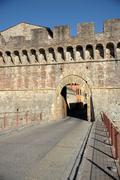 Porta Nova (Colle di Valdelsa) Stock Photos