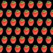 Stock Photo of Strawberry background