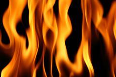 fire wallpaper - stock photo