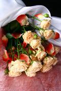 holyday roses - stock photo