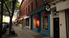 Park Slope Brooklyn. Brooklyn Storefront - stock footage