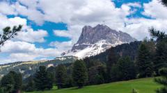 Dolomites timelapse Stock Footage