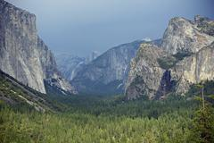 yosemite valley, california, usa. yosemite national park / high sierra - vall - stock photo