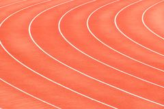 Race track in arena sport Stock Photos