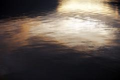water surface background - sunset colors. nature backgrounds collection. - stock photo