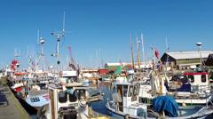 Gilleleje Harbour Stock Footage