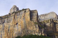 ordesa national park - stock photo