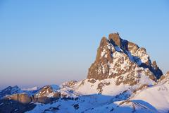midi d'ossau - stock photo
