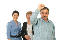 Successful business team group Kuvituskuvat