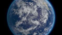 Planet Earth, zoom to Australia 4K Ultra HD. Stock Footage