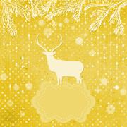 Christmas ornaments made from snowflakes. EPS 8 - stock illustration