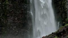 Bottom of the Njupeskar Waterfall - 25FPS PAL Stock Footage