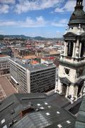 Saint Stephen Basilica in Budapest - stock photo