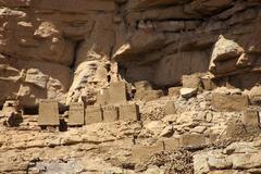 Cliff of Bandiagara Stock Photos