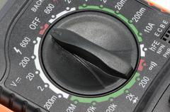 electricity meter - stock photo