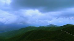 Mountain Valley Time Lapse (Blue Ridge Parkway, North Carolina) Stock Footage