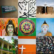 Religions of the world Stock Photos