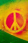 Peace sign - stock photo