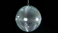 Stock Video Footage of Disco ball