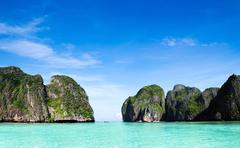 Maya bay Phi phi leh - stock photo