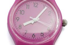 Pink clock Stock Photos