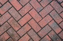 Block Paving Background Stock Photos