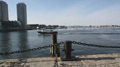 Fan Pier Boston MA Stock Footage
