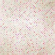 Stock Illustration of Aged and worn paper with polka dots. EPS 8