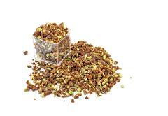 Crumbled crunchy Caramelized Pistachio - stock photo