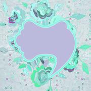 Valentine`s Day scrapbooking elements. EPS 8 Stock Illustration