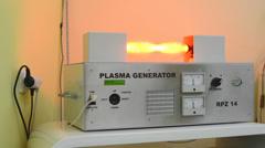 Plasma generator - device (alternative medicine) Stock Footage