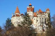 Stock Photo of dracula's castle