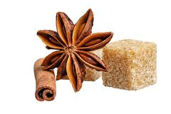 Sweets and spices Stock Photos