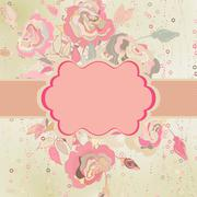 Scrap background with abstract. EPS 8 - stock illustration
