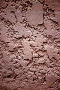 uneven surface of cement wall. - stock photo