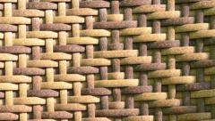 Stock Video Footage of wooden network texture timelapse with natural lighting closer
