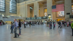 Grand Central Terminal Time-lapse Stock Footage