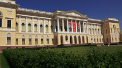 State Russian Museum in St. Petersburg 4K. Stock Footage