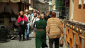 People walk in the city center, Ukraine, Lviv 4 HD Footage