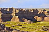 Stock Photo of badlands national park, south dakota usa. badlands scenery. south dakota phot