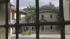 Gazi Husrev Beg tomb Stock Footage