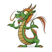 Kiinalaisen lohikäärmeen Piirros