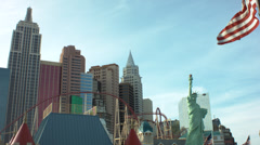 Las vegas nevada nyny Stock Footage