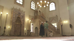 Gazi Husrev Beg mosque Stock Footage