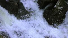 MountainsideWaterSurge-CountrysideFlooding Stock Footage