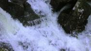 Stock Video Footage of MountainsideWaterSurge-CountrysideFlooding