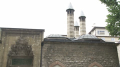 Entrance to the Gazi Husrev-bey Library Stock Footage