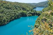 Stock Photo of plitvice lakes national park in croatia